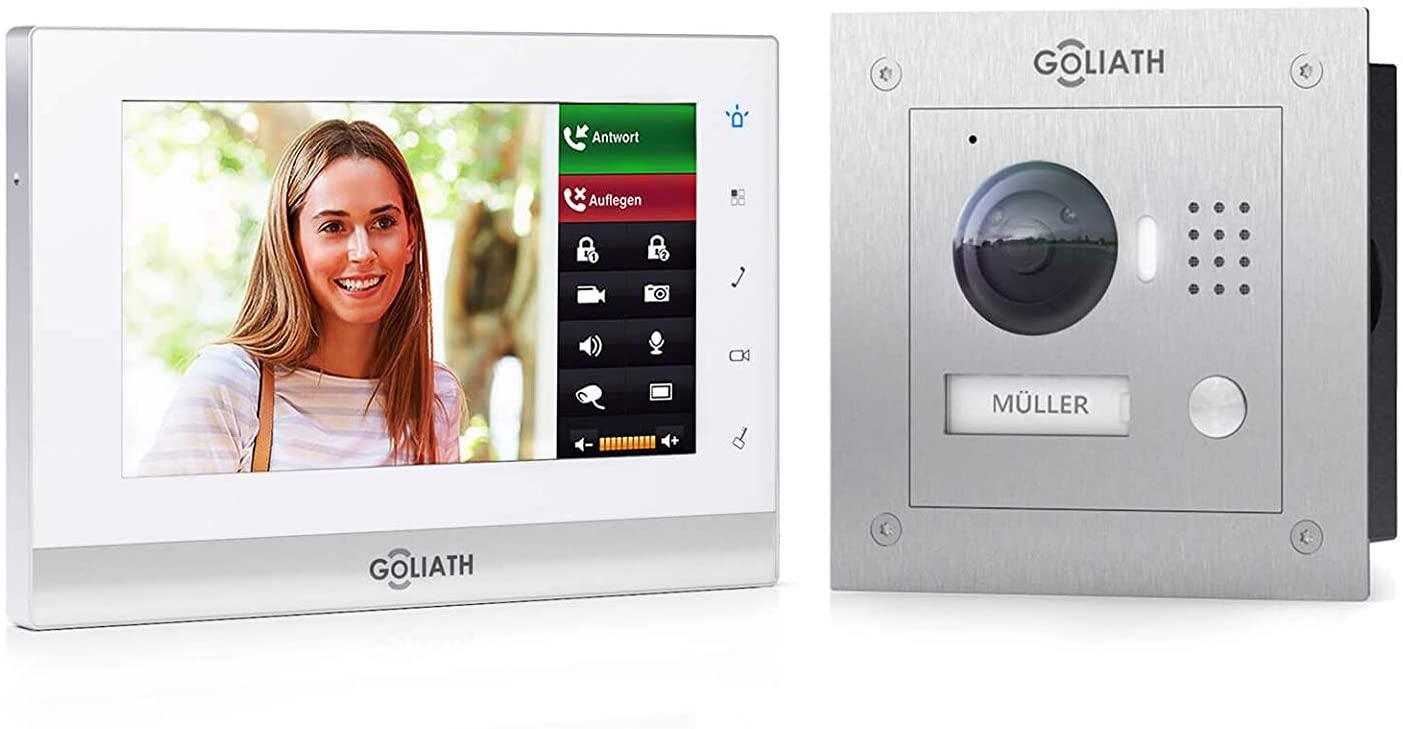 Die Goliath IP Video Türsprechanlage bietet Spitzenqualität