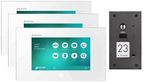 Für große Immobilien: Die Balter Evida gibt es auch mit 3 Monitoren