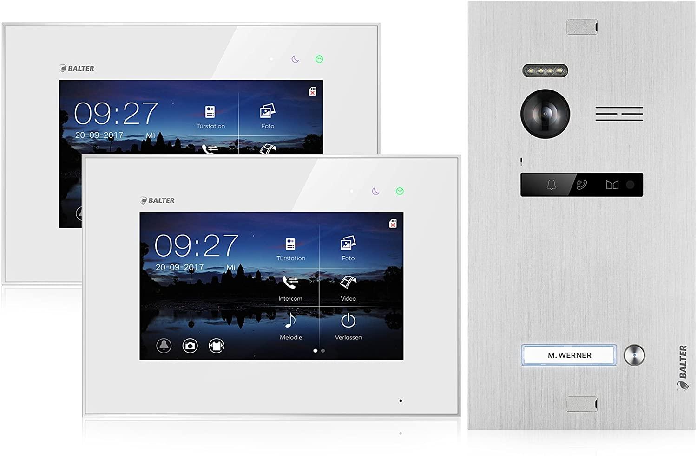Die Balter Evo gibt es für ein Einfamilienhaus auch mit zwei Monitoren
