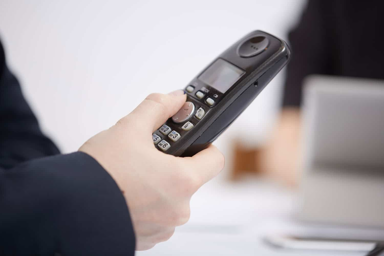 Bei einer DECT Türsprechanlage fungiert das Haustelefon als Innenstation