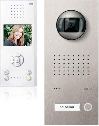 Mit der Ritto Video Türsprechanlage erkennen Sie jederzeit, wer sich vor Ihrer Haustüre befindet