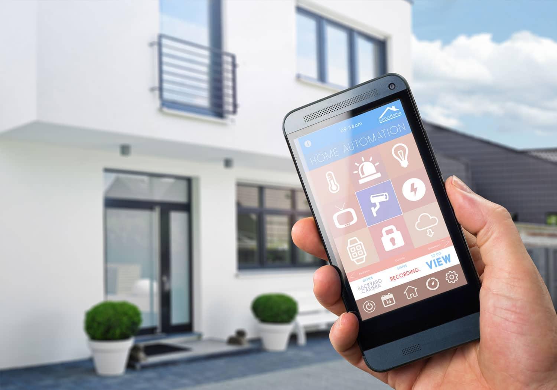 Wenn Sie ein SMART HOME haben wollen, dann sollten Sie auf eine IP Sprechanlage zurückgreifen.